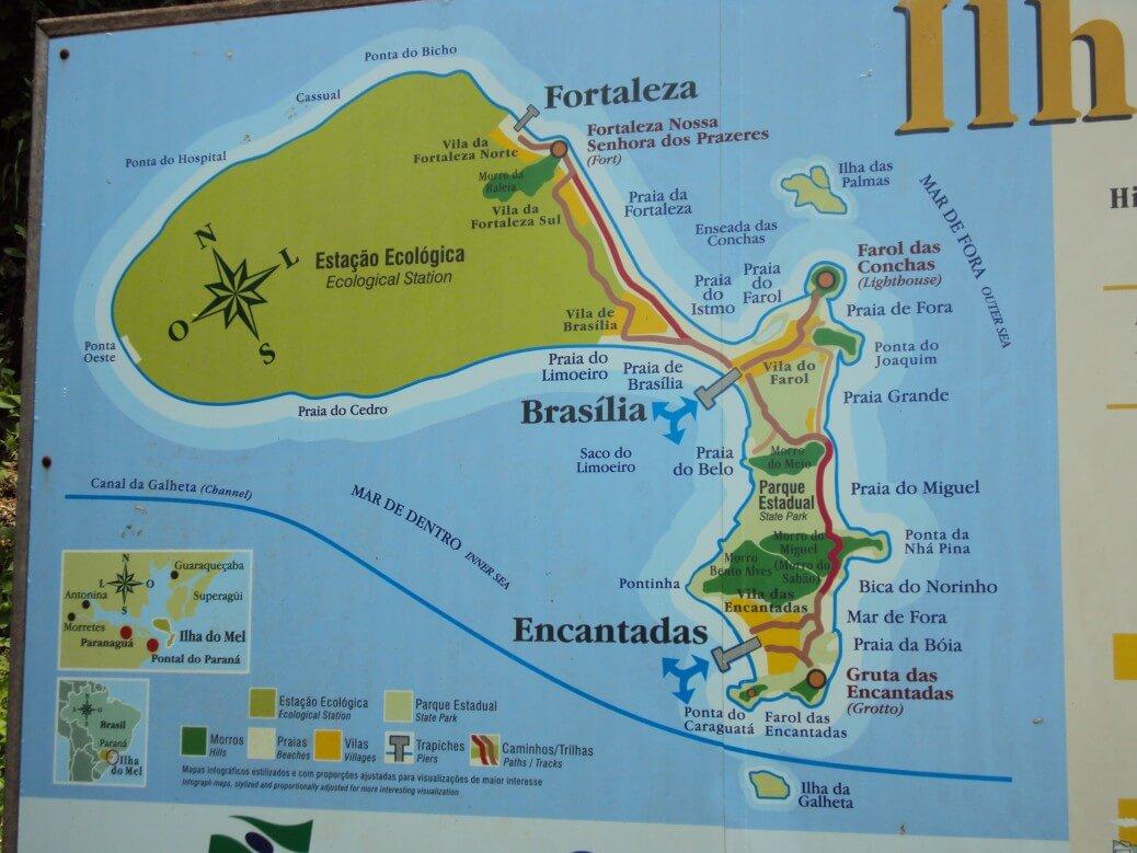 Ilha do Mel um paraíso no litoral paranaense