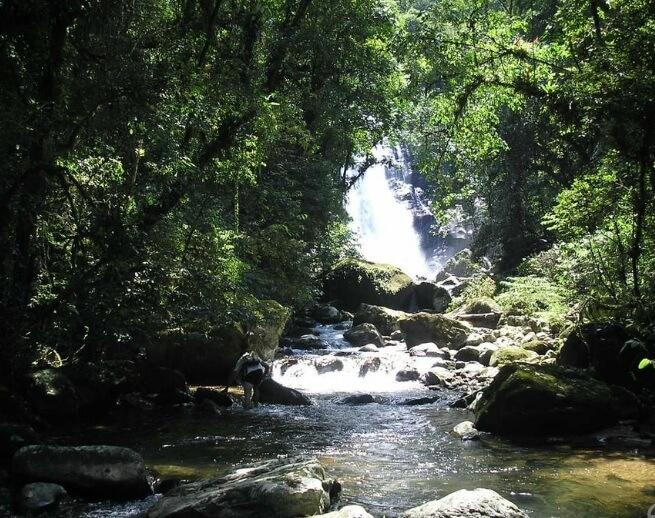 Morretes/ PR - Cachoeira Salto da Fortuna