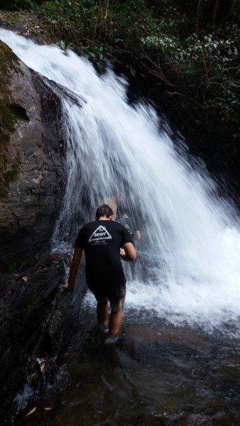 Trilha para Cachoeira do Meu Deus