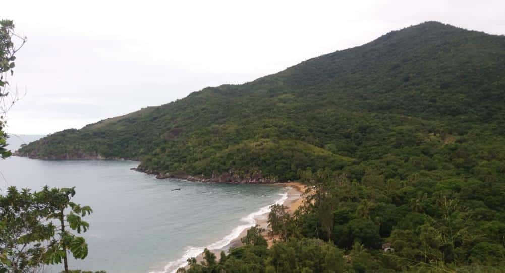 Praia do Jabaquara - Ilhabela-SP