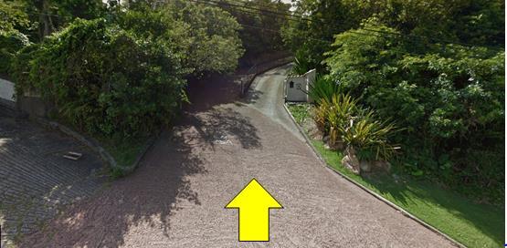 Acesso à trilha do Gravatá - Florianópolis/SC