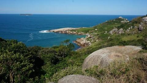 Mais um encanto de Floripa, Praia do Gravatá
