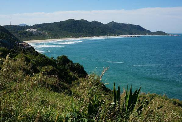 Vista para a Praia do Mole e Galheta - Florianópolis/SC