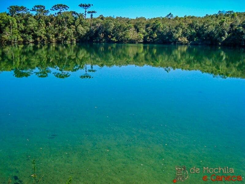 A incrível Lagoa Dourada