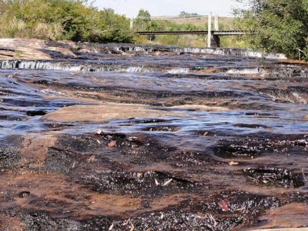 Rio de lajeado - Cânion Guartelá - Foto Reprodução: Wikiloc